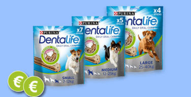 Purina DentaLife Hundesnacks Gratis Testen