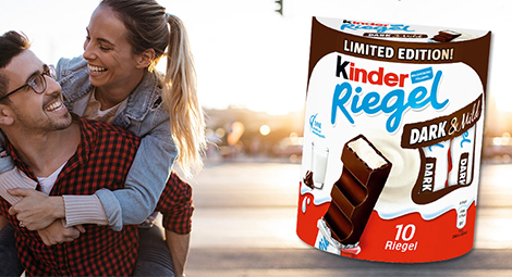 Produkttest Kinder Riegel Dark Mild
