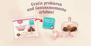 Produkttest Dr Oetker My Sweet Table Mini Gugelhupf