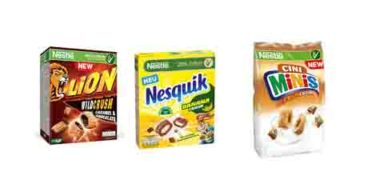 Produkttest Lion Wild Crush , Nesquik Banana Crush und Cini Minis Crazy Crush