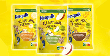 Produkttest Nesquik All Natural porridge