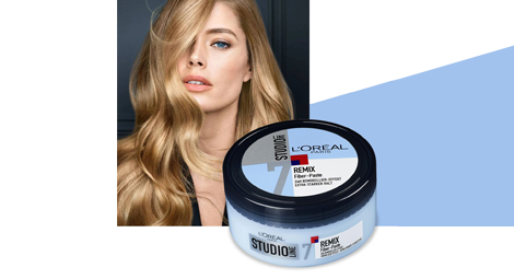 Produkttest Loreal Paris Studio Line Remix Fiber Paste